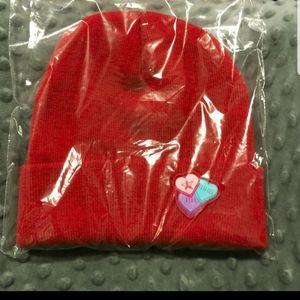 Jeffree Star Red Valentines Beanie